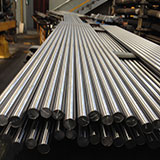 Barras de aço cromadas retificadas