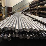 Barras de aço carbono redondas